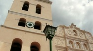 Central American Cathedral Dramatic Stock Footage