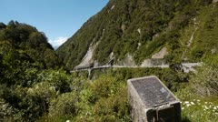 NZ Mountain Road Stock Footage