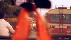 India Traffic I Stock Footage