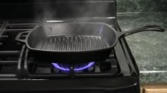 Cooking Steak - stock footage