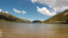 Stock Video Footage of NZ Lake 01