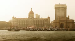 The Gateway of India Stock Footage