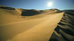 Sand Dunes Waterless Environment - stock footage