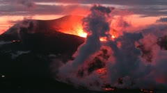 Volcanic Eruption - stock footage