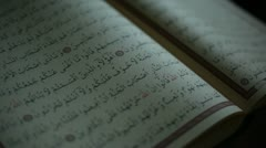 Quran Stock Footage