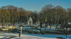 Kharkov city symbol 720p Stock Footage