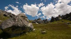 NZ Mountain Rocks Stock Footage