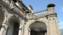 Chapultepec Castle Stock Footage