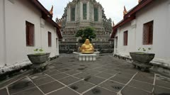 Temple in thailand - stock footage