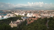 Malaga at Dawn V4 Stock Footage
