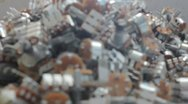 Stock Video Footage of Electrical Switch Assembly