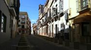 Stock Video Footage of Residental Streets of Seville