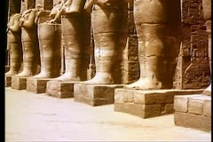 The Temple of Karnak  108090 Stock Footage