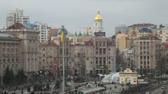Maidany in Kiev Stock Footage
