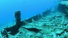 Wreck Dunraven Stock Footage