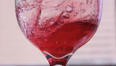 Red Juice - Wine 2 Stock Footage