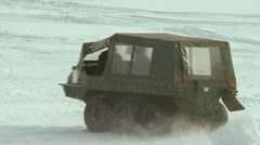 All-terrain vehicle Stock Footage