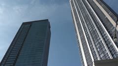 CHICAGO-0072 HIGHRISE PAN Stock Footage