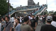 Harajuku Station - Timelapse 2 - stock footage