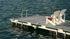 Floating Dock 3 - stock footage