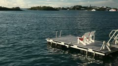 Floating Dock 4 Stock Footage