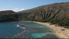 Hanauma Bay, Oahu, Hawaii Stock Footage