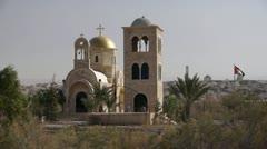 Qasr el Yahud - stock footage