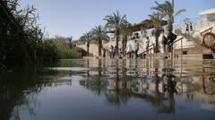Qasr el Yahud 5 - stock footage