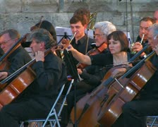 Сlassical symphony orchestra. #13 Stock Footage