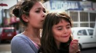 Mother and daughter 2 Stock Footage