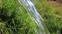 Fresh water source Stock Footage