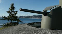 Fort Rodd Hill National Historic Site Stock Footage