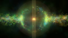 Space star Stock Footage