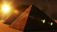 Egyptian Pyramids 01 Stock Footage