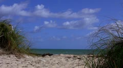 An Inviting Beach... - stock footage
