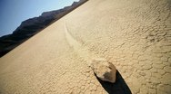 Stock Video Footage of Death Valley Sailing Stones