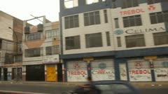 Driving in Lima, Peru Stock Footage