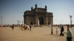 The Gateway of India II Stock Footage