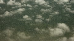 Flight Over Amazon Rainforest - stock footage