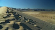 Stock Video Footage of Sand Dunes Waterless Environment