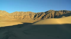 Desert Landscape Sand Dunes Stock Footage