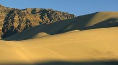 Arid Desert Landscape Environment - stock footage