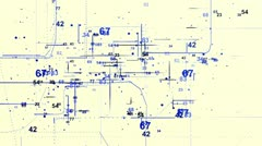 digital data bank 8 - stock footage