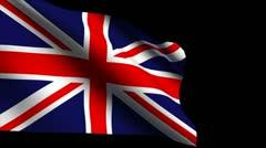 England original flag 5 Stock Footage