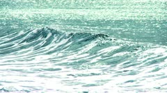 Full Screen Ocean Waves Stock Footage