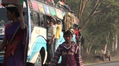 Moods of travel in India Stock Footage