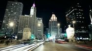 Stock Video Footage of Downtown Chicago Timelapse