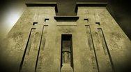 Egyptian Shrine 08 dolly Stock Footage