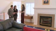 Stock Video Footage of Realtor shows home (3 of 5)