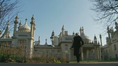 Brighton's Royal Pavilion (one) Stock Footage